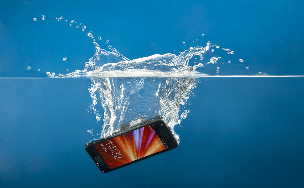 Save your Mobile when Drop into water